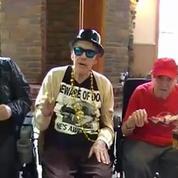 Une maison de retraite qui a le sens de la fête