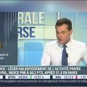 Zone euro: la croissance de l'activité privée a ralenti en avril: Gilles Moëc