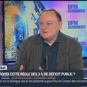 Jean-Marc Daniel: Déficit public: d'où vient la règle d'or des 3% ?