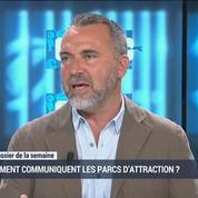 Comment communiquent les parcs d'attractions ?: Valéry Pothain et Pascal Grégoire (2/3)