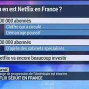 Netflix séduit en France