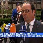 Migrants en Méditerranée: François Hollande demande à l'Union européenne un renforcement considérable des moyens
