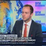 TakeAway lance le doggy-bag à la Française: Nicolas Duval