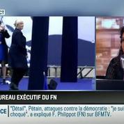 Le parti pris d'Apolline de Malherbe : Marine Le Pen ne veut plus que son père incarne le FN –