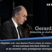 Charlie Hebdo reçoit un prix pour son courage