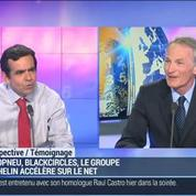 Michelin rachète 40% du capital d'Allopneus: Jean-Dominique Senard
