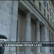 Grèce : la Bundesbank critique la BCE