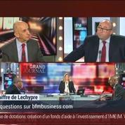 Emmanuel Lechypre: Le coût direct du travail ne représente que 23% des exportations –
