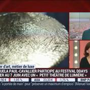 Métiers d'art, Métiers de luxe: Créatrice de matières d'or, Manuela Paul-Cavallier –