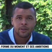 Pas besoin d'être favori pour faire de grandes choses Jo-Wilfried Tsonga