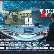 Euronext lance l'indice boursier Tech 40: Olivier de la Clergerie, Éric Forest, Jean-Marc Patouillaud et Delphine Sabattier