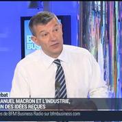 Nicolas Doze: Industrie: Emmanuel Macron met fin aux clichés –