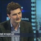 Mobeewave veut démocratiser le paiement mobile sans contact: Maxime de Nanclas (3/4)