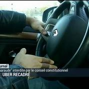 VTC : Uber recadré