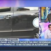 La start-up française, Drivy, tente de conquérir toute l'Europe: Paulin Dementhon