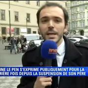 Marine Le Pen refuse de répondre aux questions de BFMTV