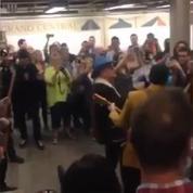 Concert surprise de U2 dans le métro new-yorkais
