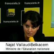 Réforme du collège : «Pas de précipitation» selon Najat Vallaud-Belkacem