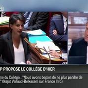 Le parti pris d'Hervé Gattegno : Le collège de demain vaudra mieux que celui d'aujourd'hui!
