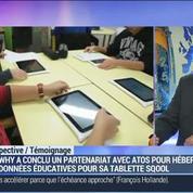 Unowhy lance Sqool, une tablette dédiée à l'éducation scolaire: Jean-Yves Hepp