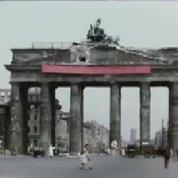 La vie à Berlin en juillet 1945 filmée en couleur