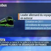 L'allemand Flixbus va débarquer en France