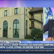 Louvre Hotels Group lance Campanile en Chine: Pierre-Frédéric Roulot