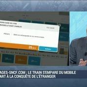 Voyages-sncf.com intègre le marché du mobile et se lance à la conquête de l'étranger: Franck Gervais