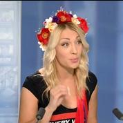 Inna Shevchenko :Les Femen ont été violemment agressées par des inconnus lors de leur opération contre le FN