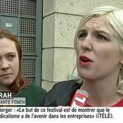 Les Femen dénoncent un service d'ordre