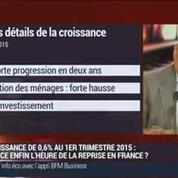 La croissance française a progressé de 0,6% au premier trimestre: Jean-Hervé Lorenzi, Luc Behagle et Jean-Marie Le Guen (1/2)