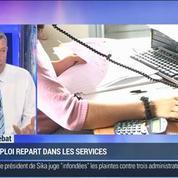 Nicolas Doze: France: l'emploi repart dans les services au premier trimestre