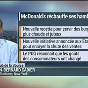 McDonald's modifie la recette de ses hamburgers pour garder la ligne