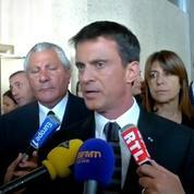 Ce n'est pas ma présence qui symbolise ou non un territoire de non-droit, dit Valls à Marseille