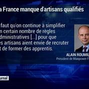 La France manque d'artisans qualifiés