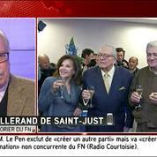 Wallerand de Saint Just minimise l'annonce de Jean-Marie Le Pen