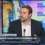 Jean-Charles Simon: Hausse des salaires des dirigeants du CAC 40 –