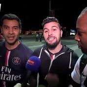 L'explosion de joie des supporters du PSG