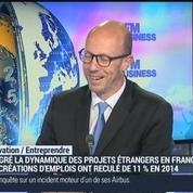 La France attire, cette année, plus de projets d'investissements étrangers que l'année précédente: Marc Lhermitte