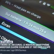 Le test du Smart 5 4G de Carrefour par le Lab 01net.com