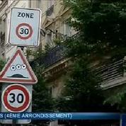 Paris : vers une vitesse limitée à 30 km/h dans le centre et l'est
