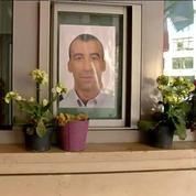 Quatre mois après les attentats de Paris, l'hommage des collègues du policier Ahmed Merabet