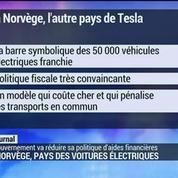 La Norvège, pays des voitures électriques