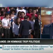 Le parti pris d'Hervé Gattegno : Hommage de Hollande au Panthéon : trop politique pour être vraiment historique –