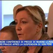 Marine Le Pen ne craint aucune nuisance de son père