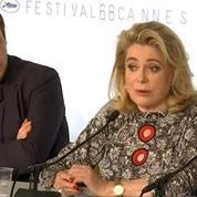 La Tête haute: Catherine Deneuve revendique son droit de penser des choses sur Dunkerque
