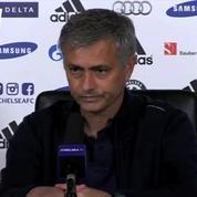 Mourinho balaie d'un revers de main une question sur son