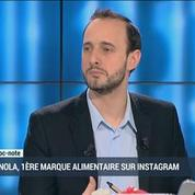 Granola, première marque agro-alimentaire à faire sa publicité sur Instagram: Benoît Tranzer etLoïc Mercier (1/2)