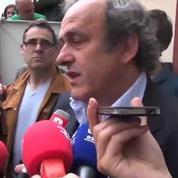 Platini ne veut plus de Blatter à la FIFA