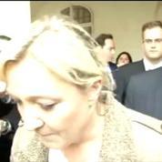 Nous n'avons rien à nous reprocher, dit Marine Le Pen après la mise en examen de son microparti